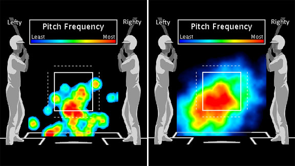 Adam Wainwright heat map