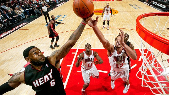 LeBron James vs Bulls