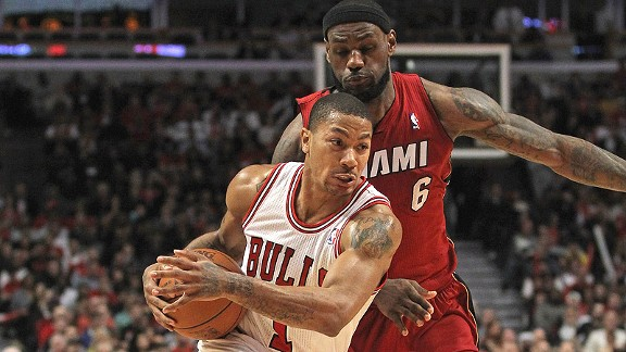 Derrick Rose/Lebron James