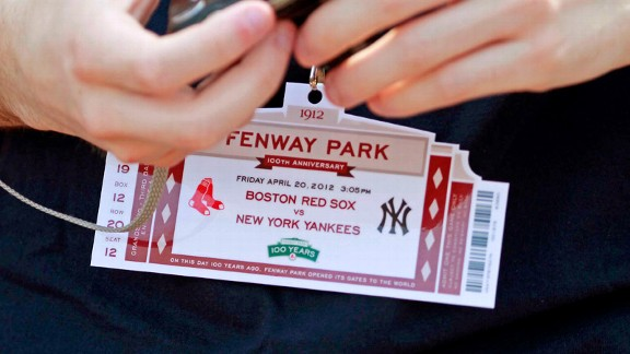 Fenway Ticket