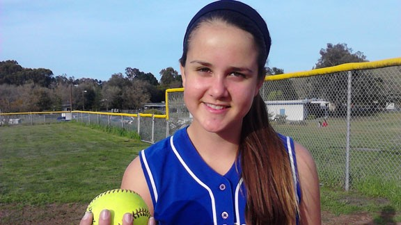 California high school softball,Cal-Hi Sports Athlete of the Week
