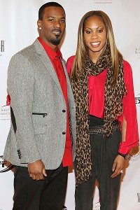 Sanya Richards-Ross and Aaron Ross