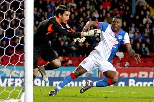 Brad Jones and Yakubu
