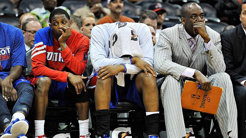Pistons Bench