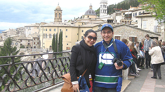 Canucks Fans in Italy