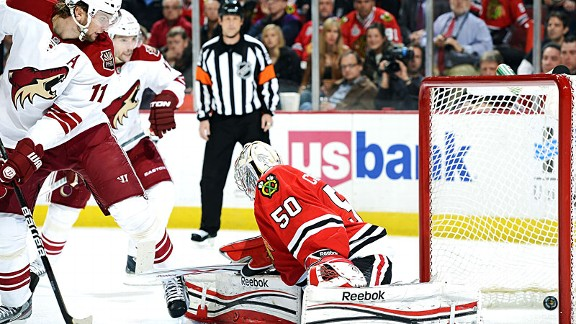 Blackhawks vs Coyotes