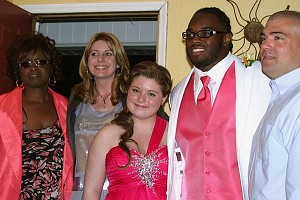Trent Richardson and Courtney Alvis