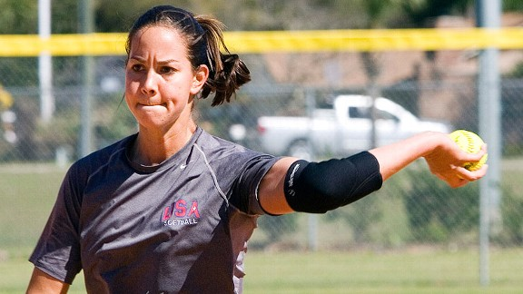 cat osteraman ex-usa softball player