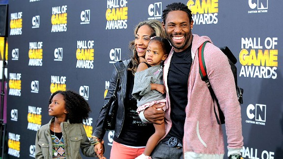 Antonio Cromartie has two children with his wife and eight others with seven other women.