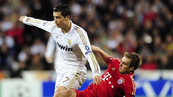 Philipp Lahm, Cristiano Ronaldo