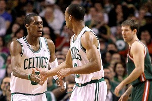 Rajon Rondo and Avery Bradley