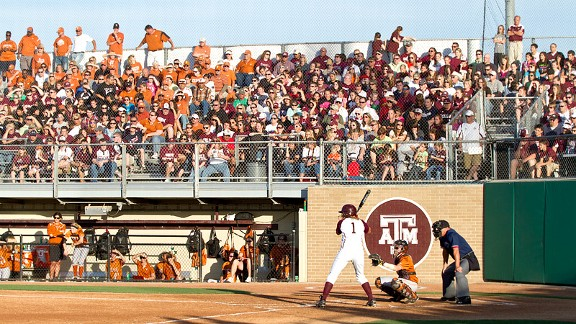 Texas and Texas A&M softball