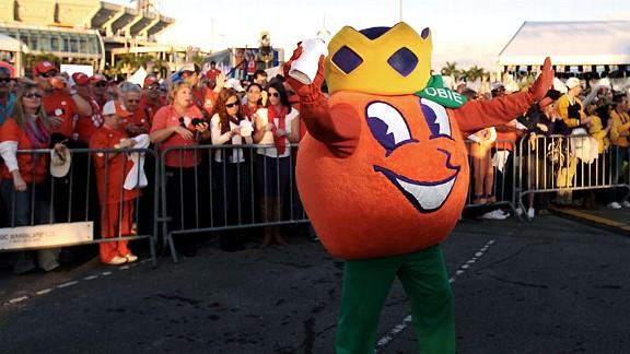 Orange Bowl Mascot