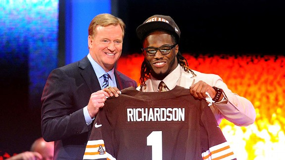 Roger Goodell, Trent Richardson