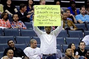 Charlotte Bobcats fans