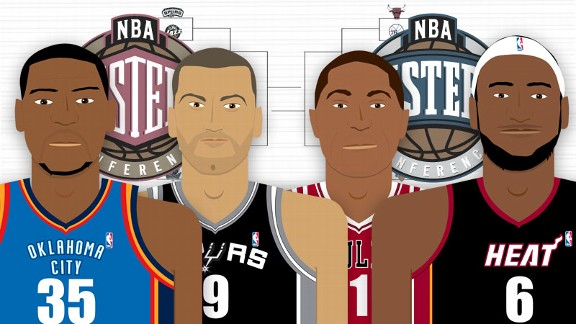 NBA Playoffs Illustration