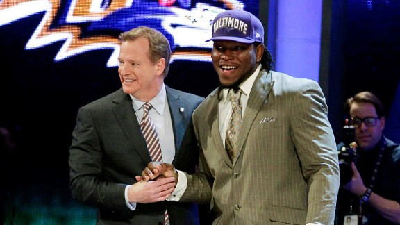 Courtney Upshaw, Roger Goodell