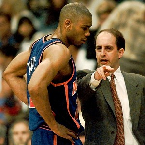 Allan Houston, Jeff Van Gundy