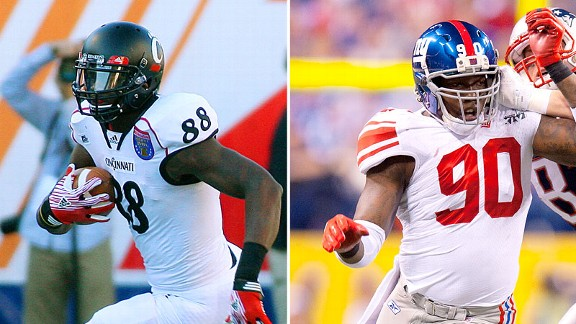 Adrien Robinson and Jason Pierre-Paul