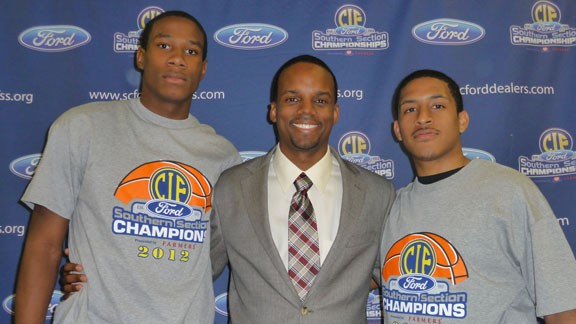 California high school boys basketball,2012 Cal-Hi Sports all-state teams