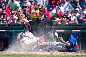 Tony Campana safe at home