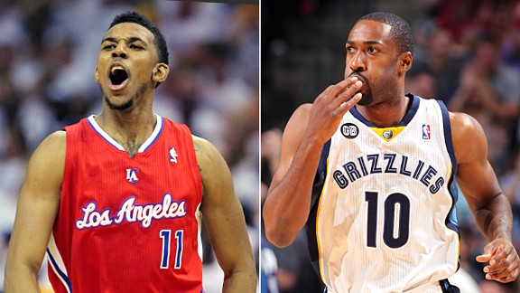 Nick Young & Gilbert Arenas