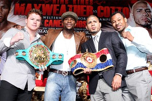 Canelo/Mayweather/Cotto/Mosley