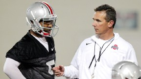 Urban Meyer and Braxton Miller