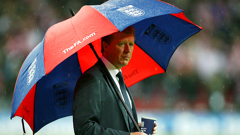 Steve McClaren's England tenure began brightly, and ended with him derided for using an umbrella.