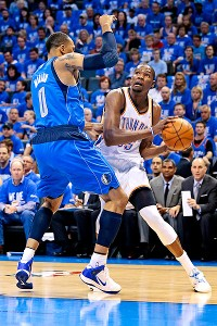 Kevin Durant and Shawn Marion