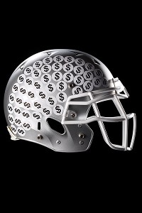 Football Helmet Illo
