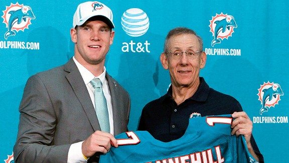 Ryan Tannehill and Stephen M. Ross