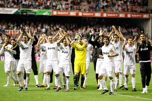 Real Madrid celebration