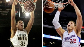 Aaron Gordon and Blake Griffin