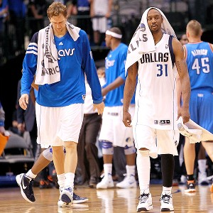 Dirk Nowitzki and Jason Terry