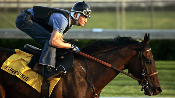 Street Sense, ridden by Calvin Borel, won the Kentucky Derby and Travers Stakes in 2007.