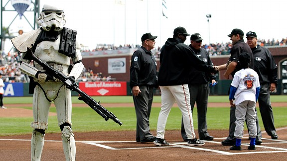 Storm Trooper & SF Giants