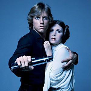 Luke Skywalker & Princess Leia