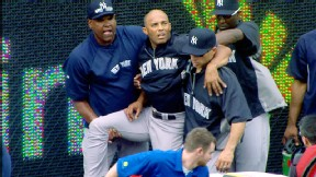 Mariano Rivera injured