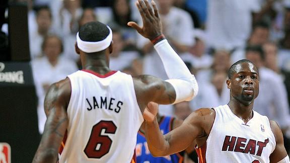 Wade and LeBron