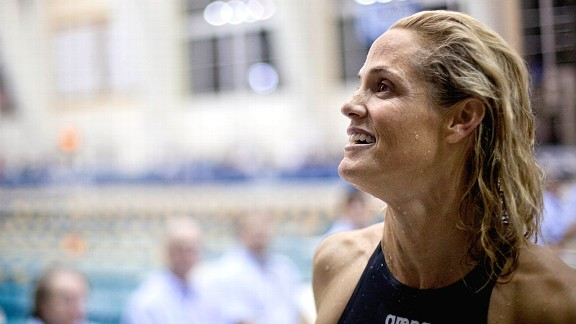 Swimmer Dara Torres is trying to qualify for her sixth Olympic Games this summer.