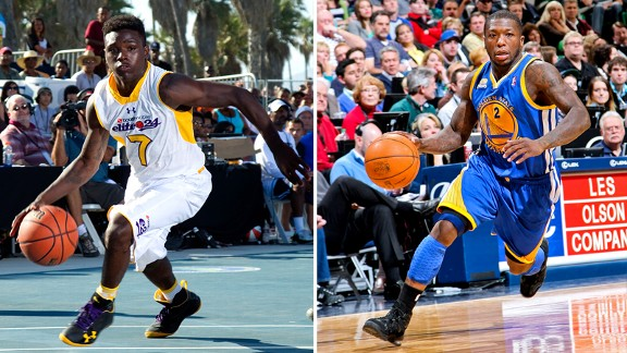 Aquille Carr and Nate Robinson