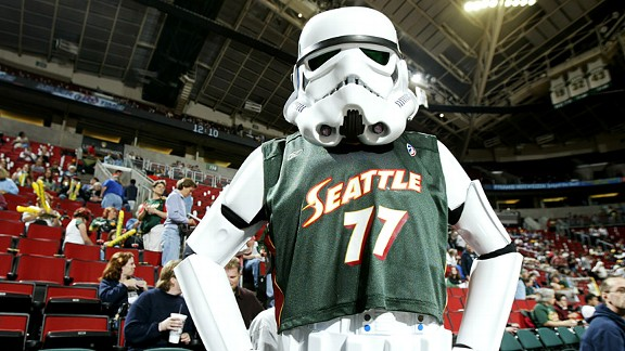 Seattle Storm Tropper