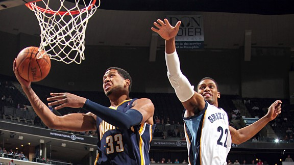 Danny Granger and Rudy Gay