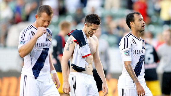 Los Angeles Galaxy dejection