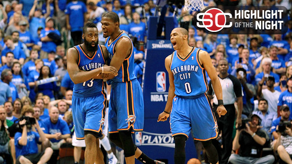 Oklahoma City Thunder celebration