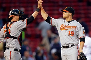 Matt Wieters, Chris Davis