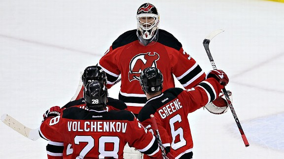 Brodeur Turns 40, Gets Perfect Birthday Gift