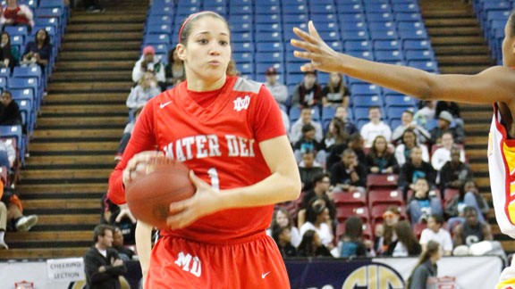 California high school girls basketball,2012 all-state teams
