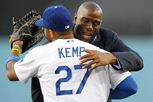 Matt Kemp, Magic Johnson